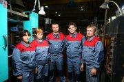 Команда литьевого цеха