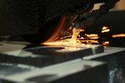 Обработка плиты на плоскошлифовальном станке